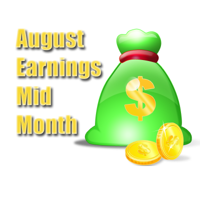 Our August Earnings Mid Month Report