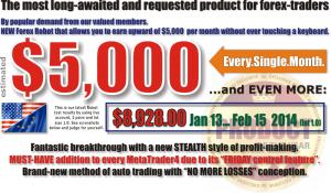 forex 5000 dollars robot