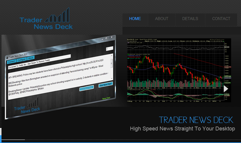trader news deck top page