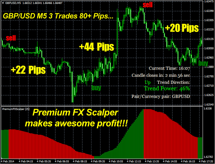 Premium in fx options