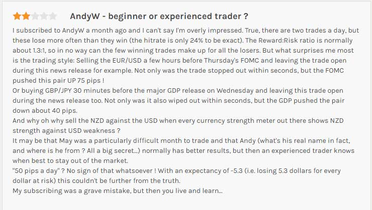 Andyw forex review